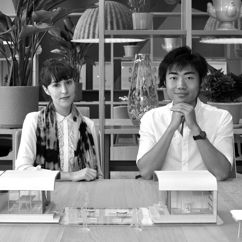 Lorène Faure and Kenny Kinugasa Tsui
